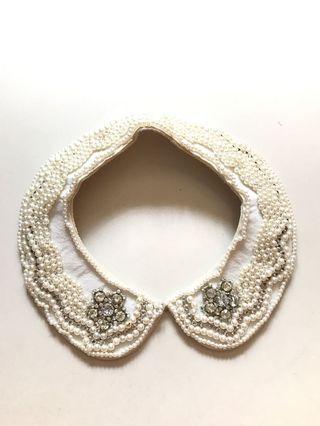 Peter Pan Pearl Collar