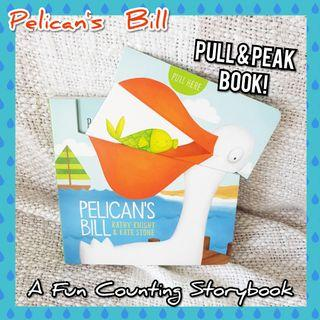 🚚 Pelican's Bill Pull & Peak Counting Storybook for Kids Toddlers