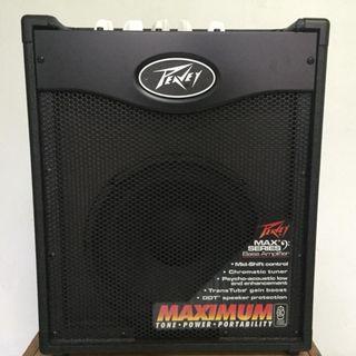 Peavey MAX110 100W Combo Bass Guitar Amp