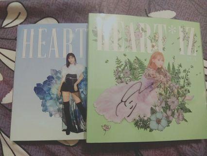 Izone iz*one mwave Sakura autograph