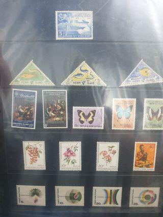 $10 stamp sheets each