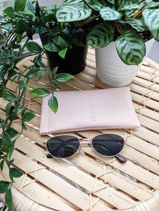 Minkpink Sunglasses Black Gold