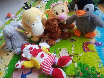 Soft / Stuff Toys [Each @ $3]