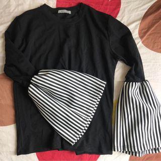 全新 未穿過 韓國購回 女裝上衣 原價錢約HK$400