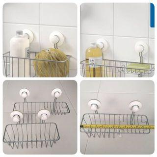Shower/Bathroom Rack with Suction