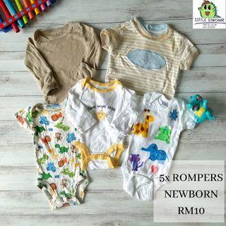 Baby Rompers Set (Buy 5sets,FREE POSTAGE)