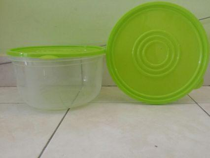 Tupperware Containers big size 2 pieces