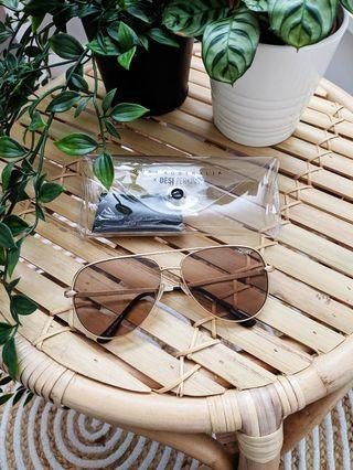 Quay Sahara Sunglasses Sunnies Aviators