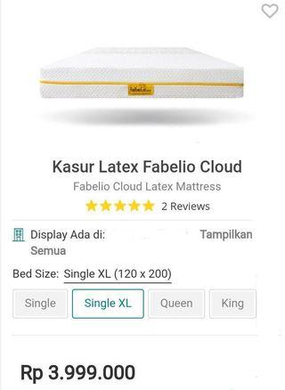 BED QUEEN LATEX ESENTIAL