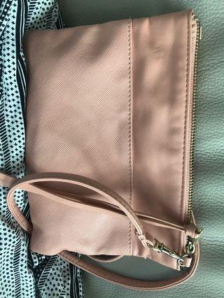 h&m pink sling bag 斜咩袋 #MTRmk