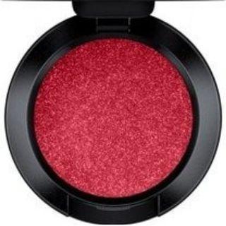 MAC Red Eyeshadow - Holly Folly