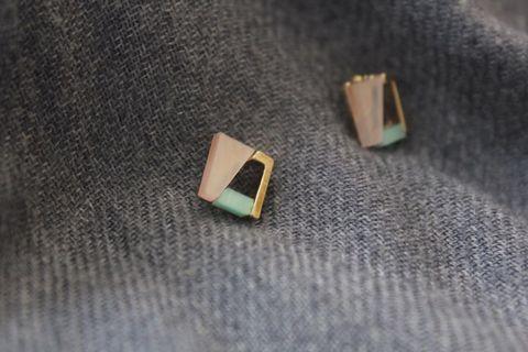 New! Anting earrings korea mutiara geometric aksesoris wanita