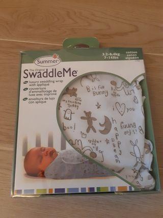 Summer Swaddle Me 嬰兒純棉包巾
