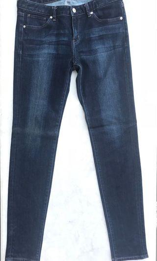 UNIQLO Skinny Denim Jeans Dark Wash