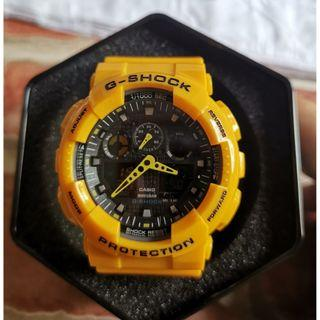 Yellow G Shock WR20Bar for SALE