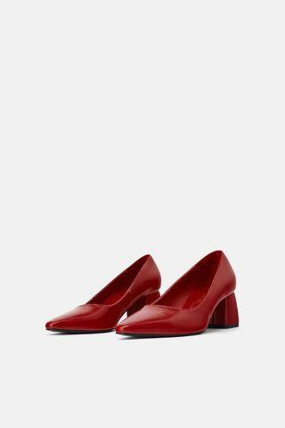 Zara Block heel shoes
