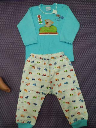 NEW! Setelan Baju Anak 1-2 Tahun