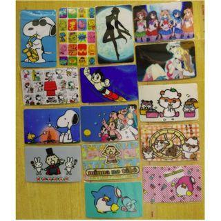 [1U1] 卡通貼紙 八達通貼紙 Octopus Sticker