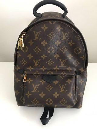 100% Authentic Preloved Louis Vuitton Palm Springs PM Backpack