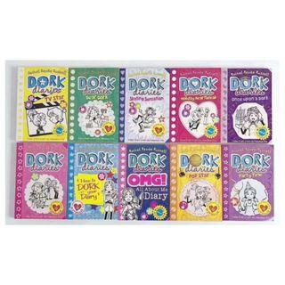Dork Diaries Collection - 10 Books (Collection) by Rachel Renee Russell