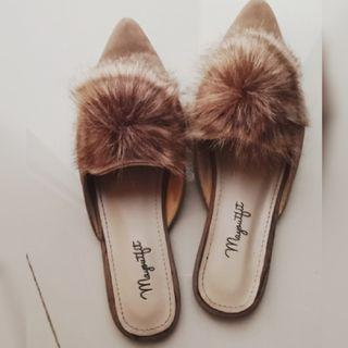 Brown mules Mayoutfit