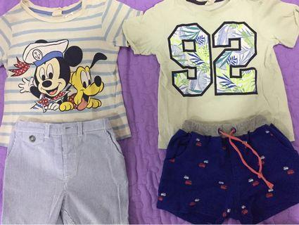 2 set of baby boy shirt and pants