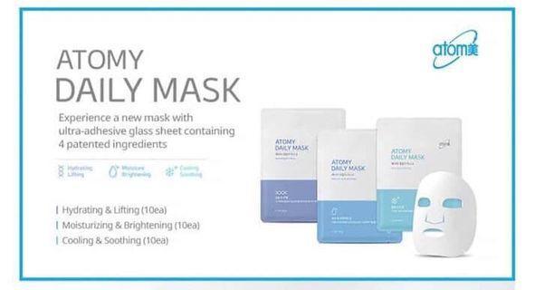 Korea skin care Atomy Daily Mask 1 box(10pcs)