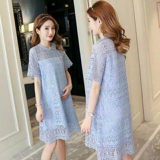 serene lace dress