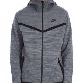Nike knit wind runner jacket