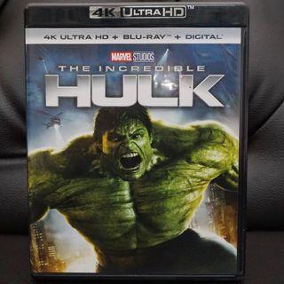 The Incredible Hulk 4k Ultra HD Blu-ray