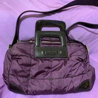 Preloved Authentic Kate Spade Purple Sling Bag