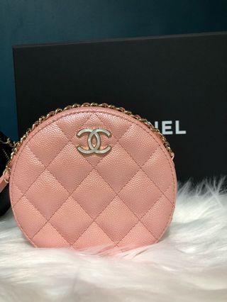 Chanel pink 小圓袋 #MILAN02