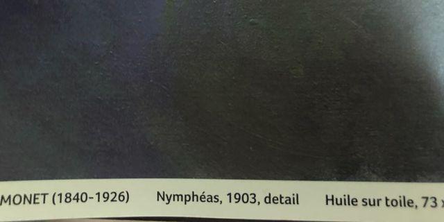 🚚 莫內 睡蓮 海報 Monet Nymphéas