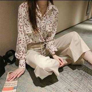 Instock Ulzzang Button Up Blouse