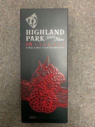 Highland park 16 years