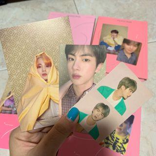 [wtt] bts map of the soul: persona postcard and photocard