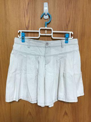 🌼米白色褲裙(二手)🌼