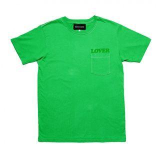 Medium Bianca Chandon Lover Pocket Shirt Green