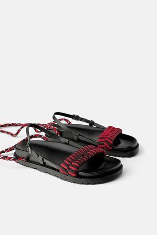 Zara woven sandals