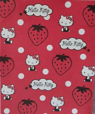 Limited edition hello kitty strawberry letter pad origami paper notebook notepad