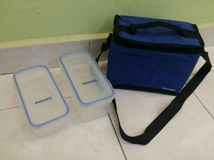 Philips Tifin box with bag