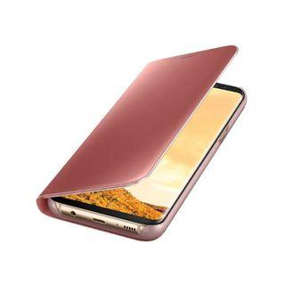 Samsung Galaxy S8+ Clear View Cover Pink