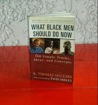 What Black Men Should Do Now Book