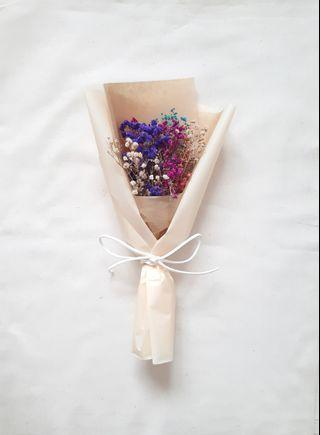 Dried Baby Breath Bouquet
