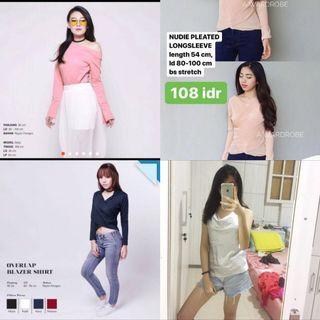 Premium clothes 150rb/4pcs