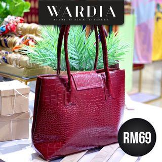 HANDBAG WARDIA REd