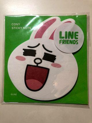Line Memo Pad