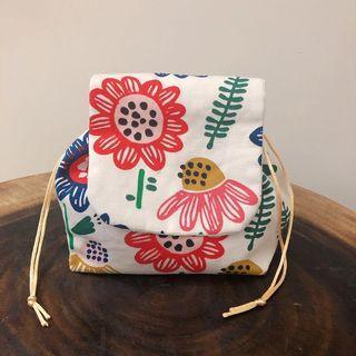 DIY 手作布藝化妝袋 小物袋  canvas bag 可訂造