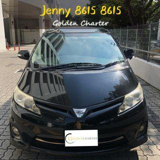 TOYOTA ESTIMA MPV $74 *Zero problem*MazdaToyota Vios Wish Altis Car Axio Premio Allion Camry Estima Honda Jazz Fit Stream Civic Cars Hyundai Avante $50 perday PHV  For Rent Lease To Own Grab Rental tada Ryde Gojek Or Personal Use Low price and Cheap