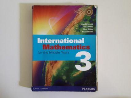 International Mathematics for the Middle Years - Book 3